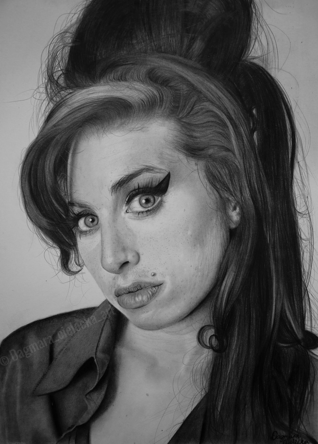 Amy Winehouse Portrait