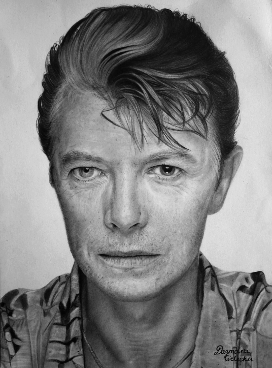 David Bowie Pencil Portrait