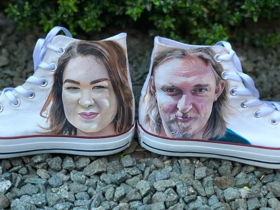Wedding Portrait Shoes