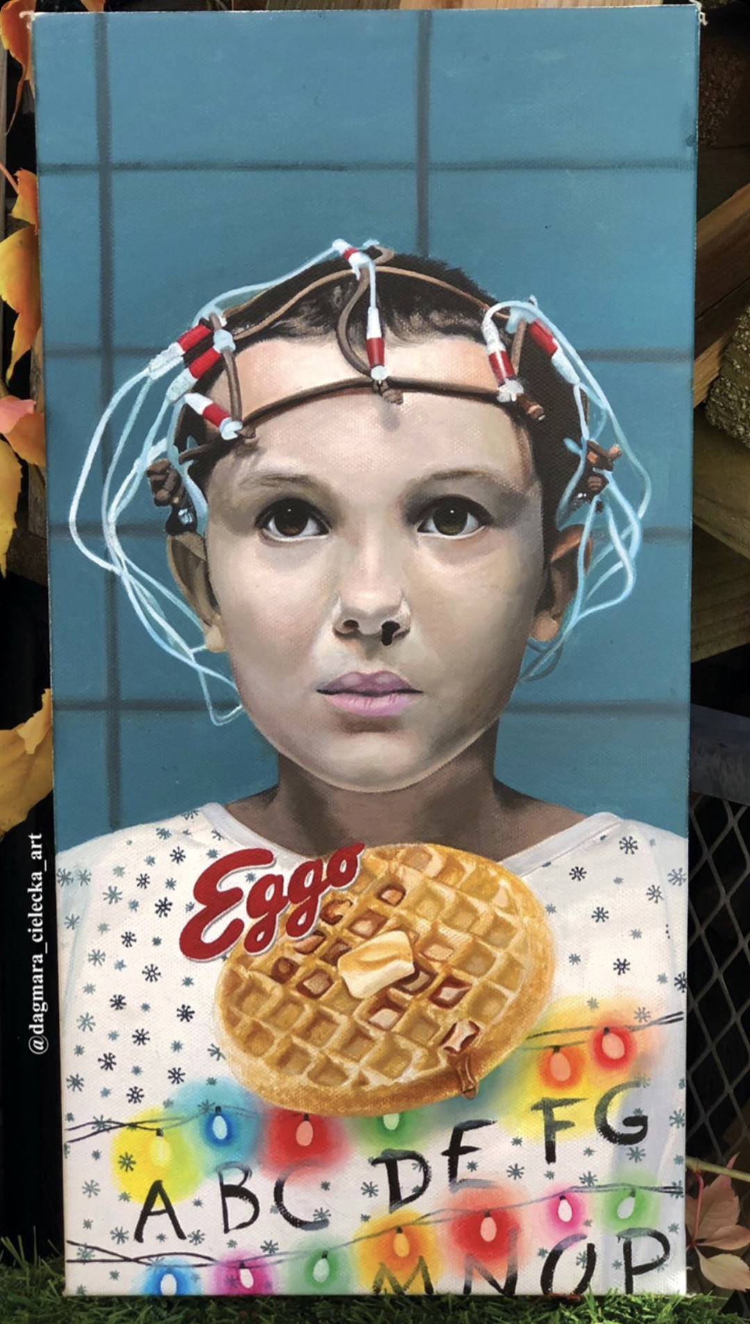 Portrait Painting Of Eleven