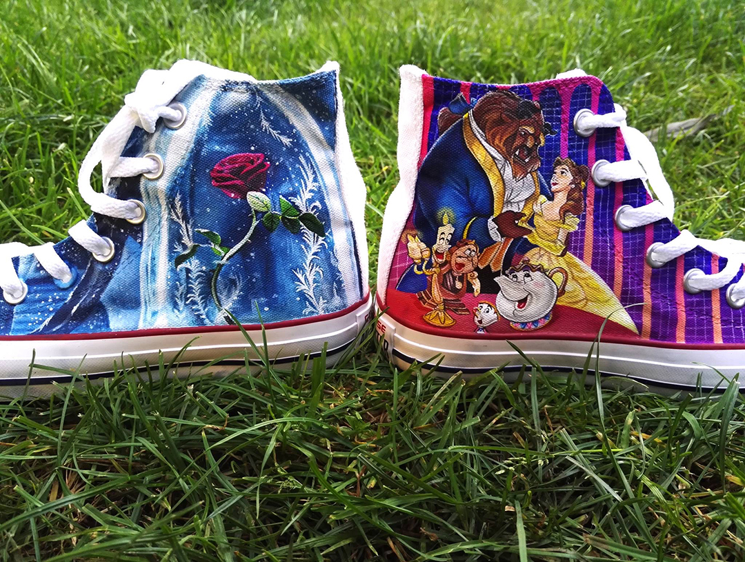 Beauty And The Beast Converse
