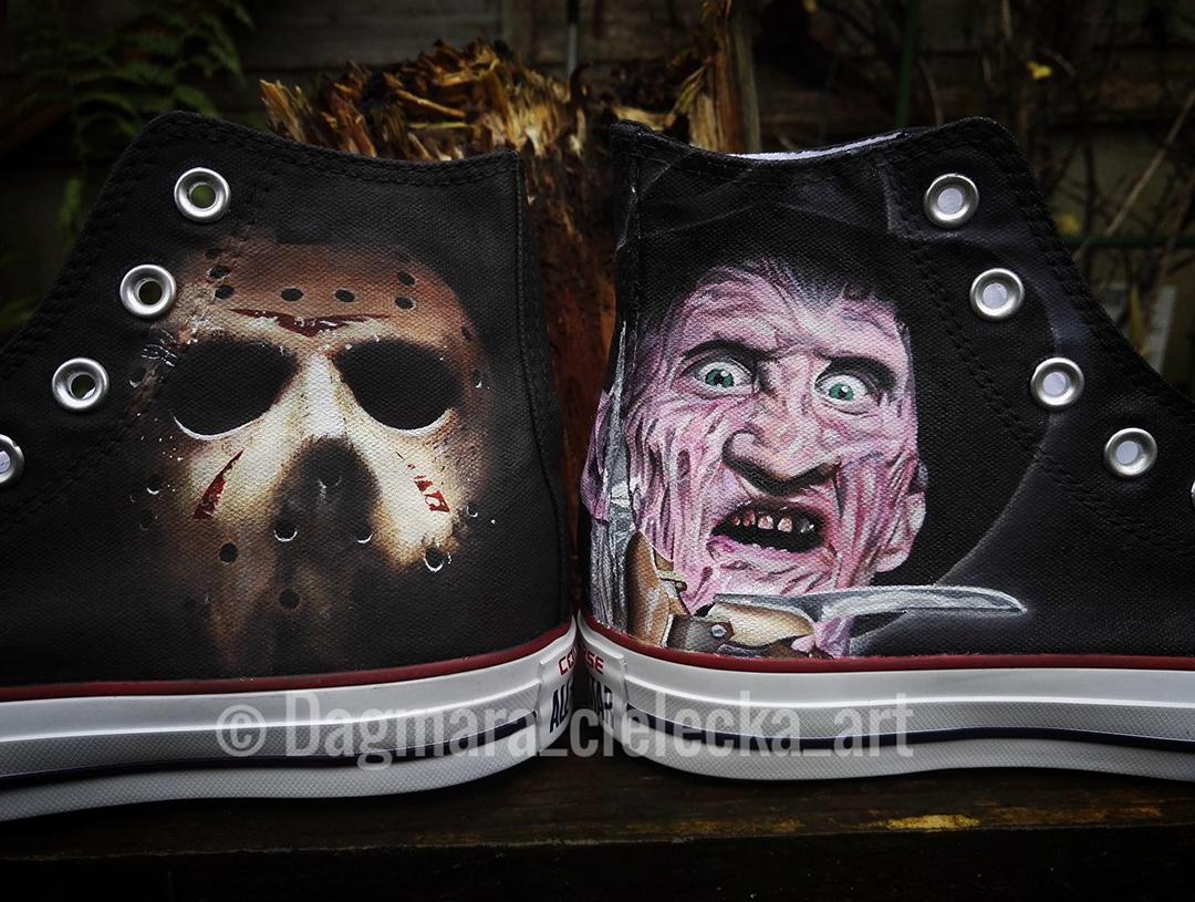 Jason & Freddy Krueger Converse