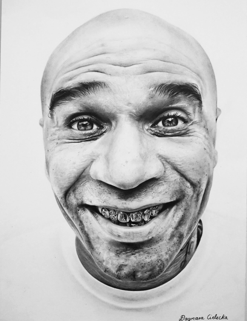 Goldie Pencil Portrait