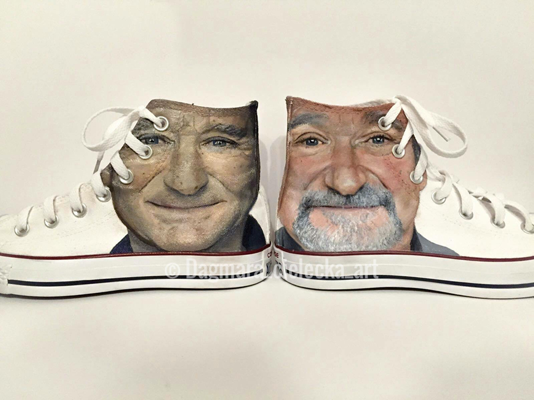 Robin Williams Converse