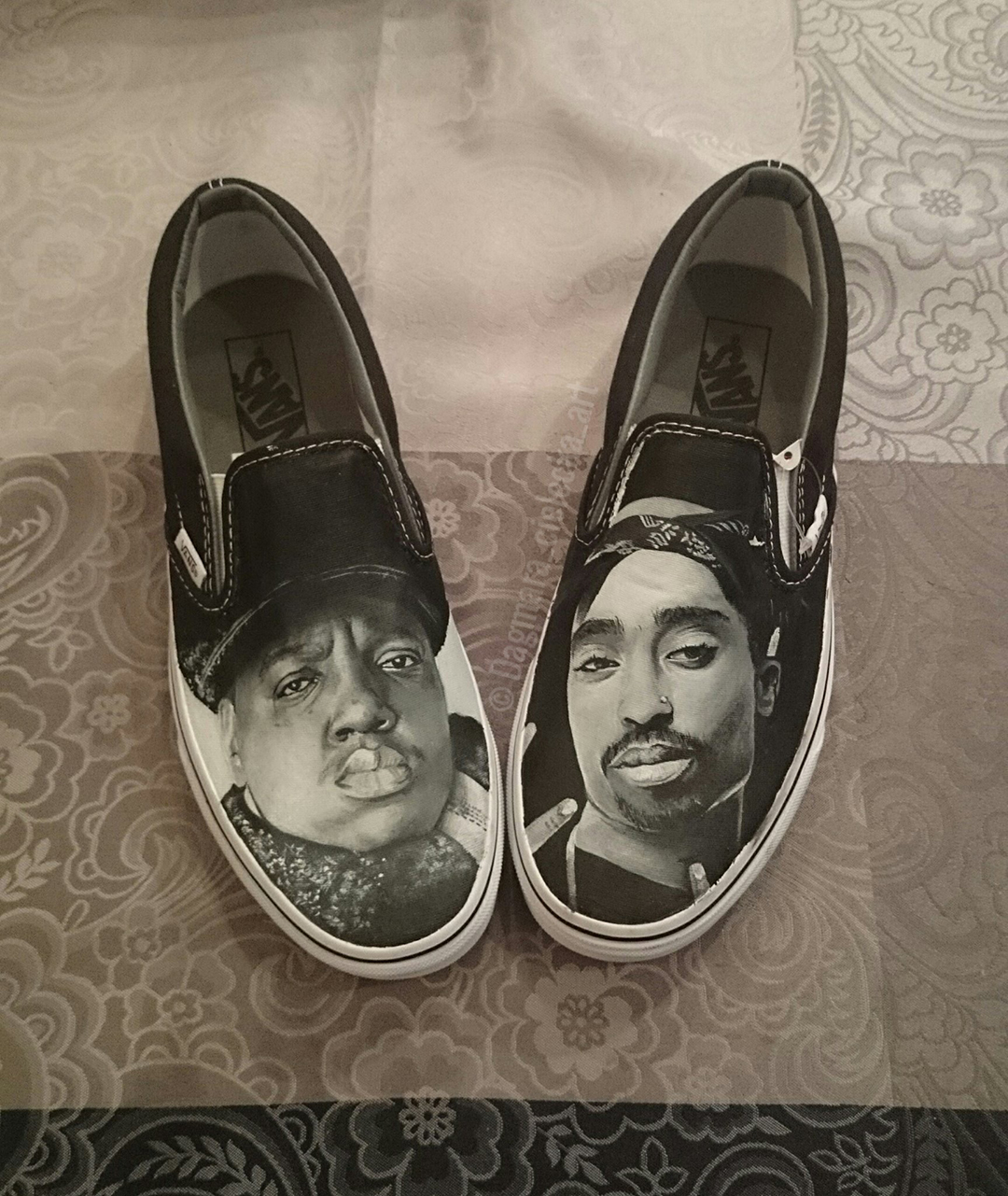Biggie Smalls & Tupac Vans